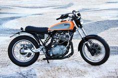 Yamaha XT 600 by CRO Scrambler Custom, Custom Motorcycles, Custom Bikes, Custom Cars, Enduro Motorcycle, Cafe Racer Motorcycle, Yamaha Xt 600, Moto Cafe, Honda Cb750