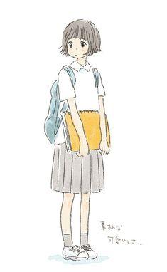 Learn To Draw Manga - Drawing On Demand Cool Art Drawings, Kawaii Drawings, Drawing Faces, Pencil Drawings, Illustration Girl, Character Illustration, Film Manga, Character Art, Character Design