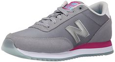 New Balance Women's WZ501 Ripple Sole Pack Classic Running Shoe, Grey/Pink, 8 B US ** To view further for this item, visit the image link.