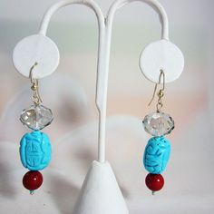 This light and modern earring is made of Carved by LaughingBudha, $38.00
