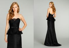 Another cute bridesmaids dress. Noir by Lozaro.