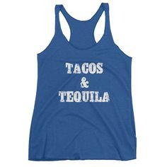 Taco Tuesday Triblend Tank Top - Ladies'