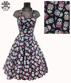 Hell Bunny Skull Candy Dress  eBay