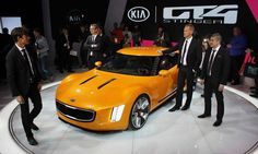 Kia GT4 Stinger revealed at the Detroit auto show -- photos, specifications, details - Autoweek
