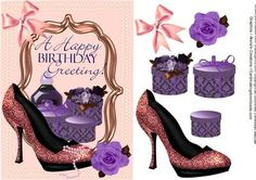 A Happy Birthday Greeting  on Craftsuprint - Add To Basket!
