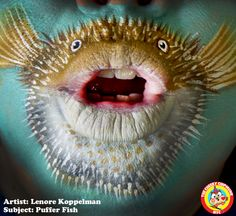 Lenore Koppelman, face painter: self-portraits — The Cheeky Chipmunk