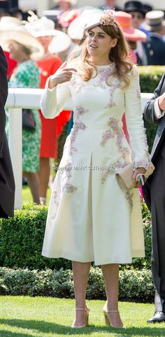Princess Beatrice of York attends Royal Ascot 2017 at Ascot Racecourse on June 20, 2017 in Ascot, England.