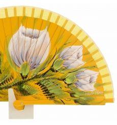 Abanicos - Abanicos Pintados a Mano, Para Bodas - Paula Alonso - Tienda online