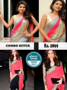 Awesome Combo Offer For Bollywood Replica Sarees
