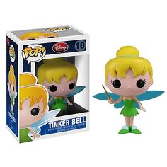 Peter Pan Tinker Bell Pop! Disney Pop! Vinyl Figure.  Want!!!