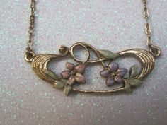 Vintage Jewelry Necklace 1928 Jewelry by LunasVintageDesigns