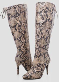77e16d20cff Sleek Snake Over The Knee Boot - Wide Width Wide Calf