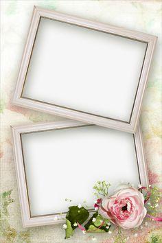 Molduras Vintage, Foto Frame, Flowery Wallpaper, Beautiful Love Pictures, Photo Collage Template, Birthday Frames, Instagram Frame, Beautiful Fantasy Art, Christmas Templates