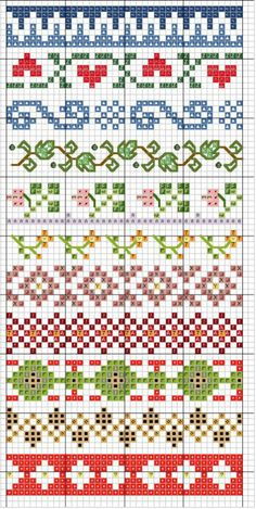Thrilling Designing Your Own Cross Stitch Embroidery Patterns Ideas. Exhilarating Designing Your Own Cross Stitch Embroidery Patterns Ideas. Fair Isle Knitting Patterns, Knitting Charts, Loom Patterns, Knitting Stitches, Beading Patterns, Embroidery Patterns, Sock Knitting, Paper Embroidery, Doily Patterns