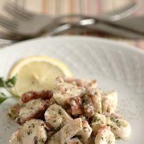 Insalata di calamari e gamberetti. | Colazione da Jo Calamari, Antipasto, Potato Salad, Potatoes, Pasta, Ethnic Recipes, Wire, Potato, Appetizer