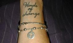#Tatoo  #lavidamisma  Vientos de cambio... construir, soltar, aprender