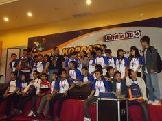 Blogger kelas berat @nopy_pr w/ Blogger UPN Surabaya