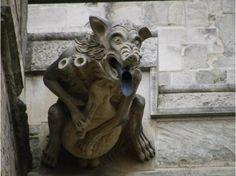 Gloucester Cathedral Gargoyle