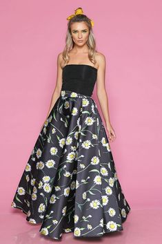 Top DANIA N - Mathilde Strapless Dress Formal, Formal Dresses, Mood, Summer, Fashion, Dresses For Formal, Moda, Summer Time, Formal Gowns