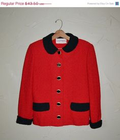 """Christmas SALE $39.15 """" Click to Shop Now"""" Vintage Sweater Cardigan Sweater by founditinatlanta"""