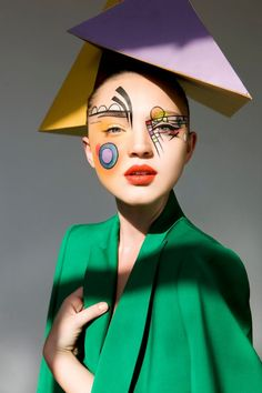 Beautiful high fashion make up