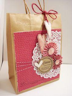 idea for decoration bag  Use the idea for Christmas