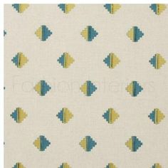 Clarke & Clarke Zanzibar Pizarro Fabric Collection F0722/01