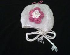 Caciula tricotata pentru copii model 2
