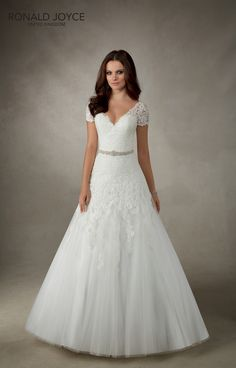 Ronald Joyce - The Ronald Joyce Bridal Collection focuses on flattering shapes and romantic designs of wedding gowns for brides