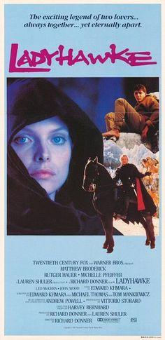 Ladyhawke - Michelle Pfeiffer, Rutger Hauer, Matthew Broderick, John Wood, Leo McKern - (1985)  ...  Love this movie