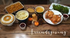Happy Friendsgiving!! Check out the blog for some delicious Thanksgiving dishes that can be enjoyed with friend and/or family this Thanksgiving!! Live. Laugh. Cook.