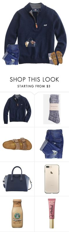 """""""you say you need space, are you an astronaut?"""" by bowbeauty01 ❤ liked on Polyvore featuring Birkenstock, Givenchy, tarte, Too Faced Cosmetics, Bare Escentuals and bowbeautiful"""