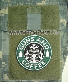 Guns and Coffee no better combination
