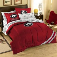 1000 images about georgia bulldog room ideas on pinterest for Georgia bulldog bedroom ideas