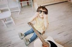 Image detail for -boy, cute, guitar, kid - inspiring picture on Favim.com