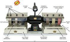 "(48 state only) CAB KING 8"" lapidary rock grinding polishing cabochon machine BUTW http://smile.amazon.com/dp/B004XNQOYQ/ref=cm_sw_r_pi_dp_q9Sswb1XFWJV5"