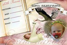 Maya Kristine birth certificate