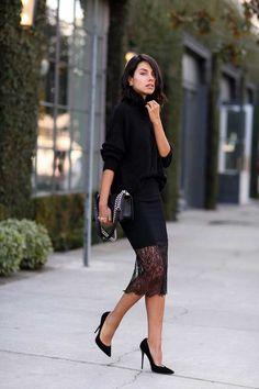 nicholas_lace_trim_skirt