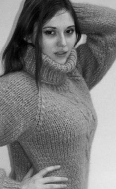 Chunky Knitwear, Cardigans, Sweaters, Catsuit, Warm And Cozy, Turtle Neck, Wool, Guilty Pleasure, Knitting
