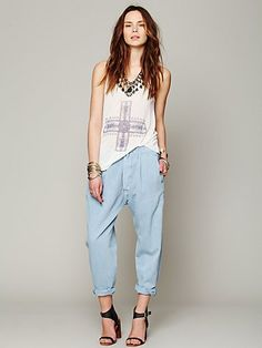 Free People 1920s Levis Pleated Chino Pants