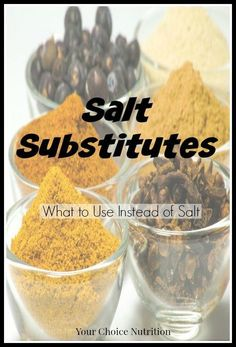 Looking to lower your salt intake, but don& want to eat bland food? Look here for salt substitutes to flavor your food without sacrificing taste! No Sodium Foods, Low Sodium Diet, Low Sodium Recipes, Low Sodium Meals, Sodium Intake, Low Sodium Soup, Low Potassium Recipes, Heart Healthy Diet, Heart Healthy Recipes