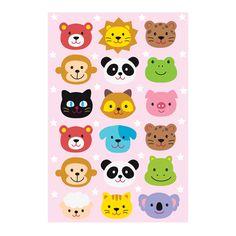 인테리어, 유치원, 어린이집 유니테크 스티커 ::: 스티커몰 Diy And Crafts, Arts And Crafts, Disney Duck, Toddler Activities, Cookie Decorating, Origami, Hello Kitty, Cute Animals, Snoopy