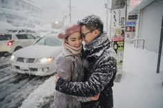 #SandyLiena #Japanprewedding #Winterprewedding