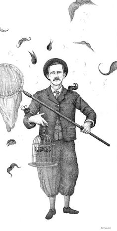 Moustaches on Drawing Served