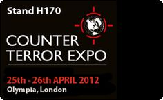 Counter Terror Expo 2012 (@ct_expo #ctx2012) - Olympia, London 25th-26th April, @Steatite Limited Stand H170