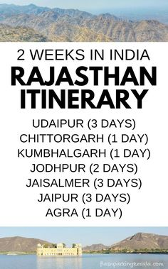 2 weeks in Rajasthan itinerary. 3 days in Udaipur, 2 days Jodhpur, 3 days Jaisalmer. 3 days in Jaipur. Forts in India. How many days in best cities in India. Best places to…More India Accedi al nostro sito Ulteriori informazioni Jaisalmer, Udaipur, Travel Tours, Asia Travel, Travel Destinations, Vietnam Travel, Travel Plane, Travel Backpack, Thailand Travel