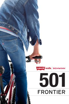 The 501 Levi's x Schwinn co-branded Frontier