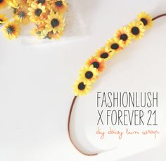 Fashionlush x Forever 21 DIY Series: A Lil' Floral Hair Flair
