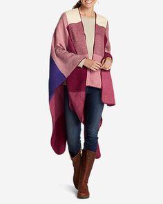 Women's Vesper Plaid Blanket Wrap