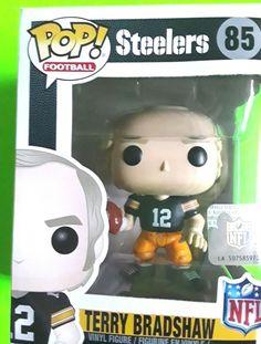 Terry Bradshaw Pittsburgh Steelers Funko NFL Legends POP BEST SELLER Figurine #FunkoPopFootball